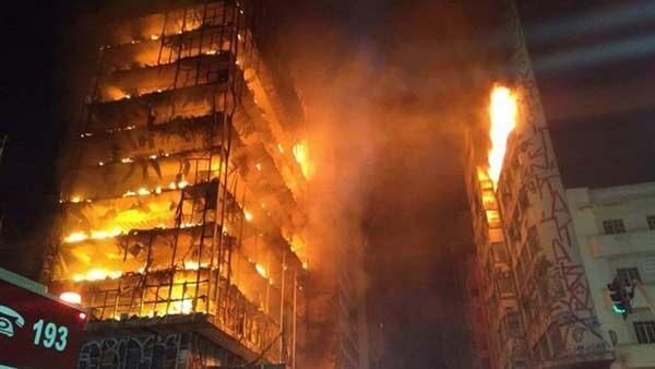 ฝันเห็นตึกไฟไหม้