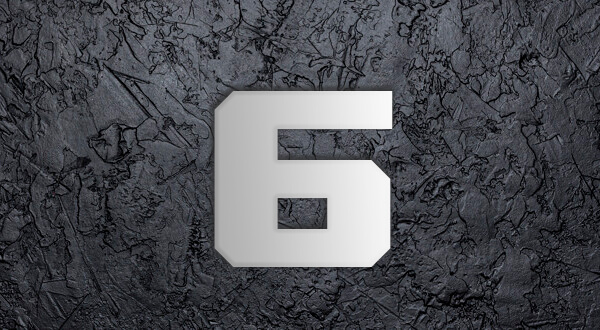 เลข 6