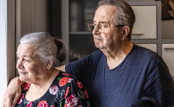 ชายแก่กับหญิงแก่