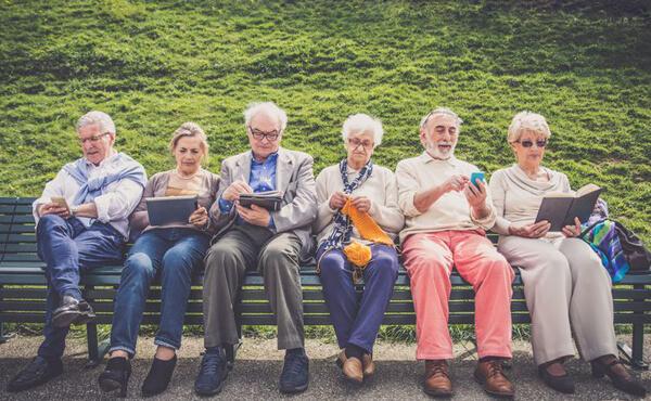 กลุ่มคนแก่